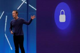 Facebook chief Mark Zuckerberg.