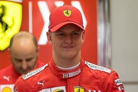 Ferrari test felt like home, says Mick Schumacher