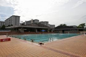Kallang Basin Swimming Complex.