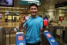 Commuters can now pay fares with Mastercard