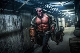 Getting into Hellboy costume was hell for David Harbour