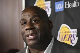Magic Johnson steps down as LA Lakers chief