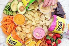 Ajitas Vege Chips, Vege Deli Crisps fuse flavour and nutrition