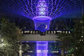 Jewel Changi Airport opens doors to first public visitors
