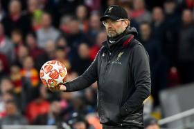 Liverpool manager Juergen Klopp joked that they need 13 players to face Chelsea, two to handle Eden Hazard.