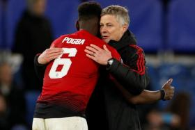Ole Gunnar Solskjaer insists that Paul Pogba remains focused at Old Trafford.
