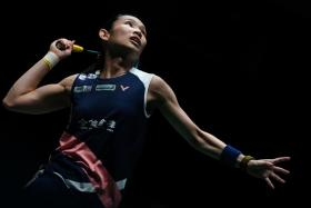 Top seed Tai Tzu-ying will meet second seed Nozomi Okuhara in the Singapore Badminton Open final on Sunday.