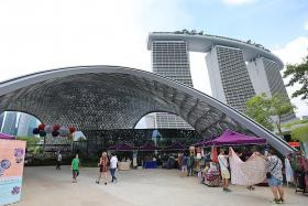 New public spaces to expand draw of Gardens by the Bay