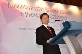 Chan Chun Sing lays out benchmarks for success in public sector