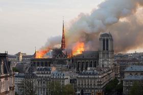 Macron: Restoring Notre Dame is France's 'profound destiny'