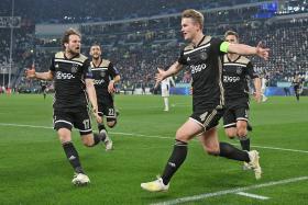 Ajax find de Ligt in slaying Juventus