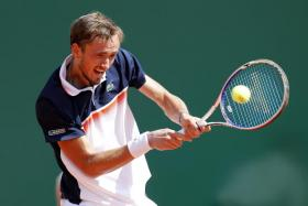 Daniil Medvedev will meet another Serb, Dusan Lajovic, in the semi-finals.