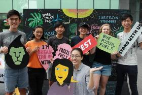 Student activist takes on a world of change