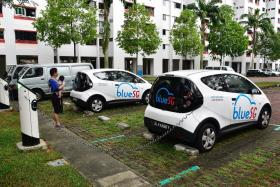 Public can now use BlueSG's electric vehicle chargers