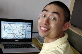 Homesick architect redesigns MRT map