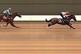 Grand Choice winning Trial 6 with ease.