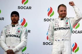 Deja vu for Mercedes as Lewis Hamilton, Valtteri Bottas vie for title