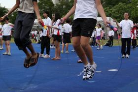 Skipping is a good workout - and not just for kids.
