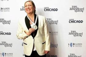 Female chef of modern Southern cuisine wins top US prize