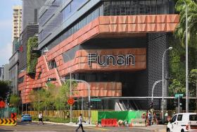 Twin office blocks at Funan get 98% pre-leasing commitment