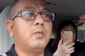 Gojek driver in dispute video gets LTA warning