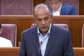 Home Affairs and Law Minister K. Shanmugam.