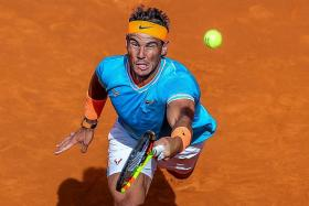 Strong start by Rafael Nadal as David Ferrer bows out
