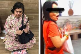 Woman arrested for stealing money from blind tissue seller