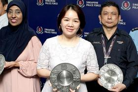 Security supervisor lauded for saving woman at carpark