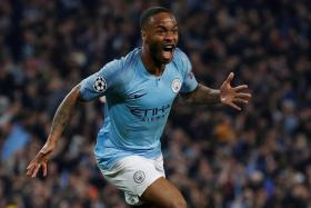 Raheem Sterling has scored 23 goals and bagged 14 assists for Manchester City this season.