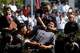 Cambodians remember Khmer Rouge victims on annual Day of Anger
