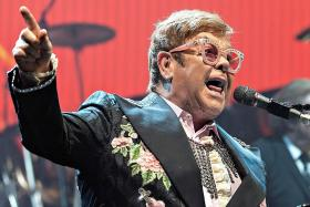 Elton John: Hard to watch family stuff in Rocketman biopic