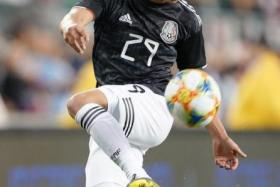 Mexico's Real Betis winger Diego Lainez is a joy to watch down the flanks.
