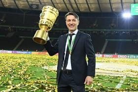 Niko Kovac's Bayern future safe, after landing domestic double