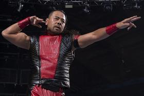 WWE star Shinsuke Nakamura: 'I keep fighting because I'm still scared'