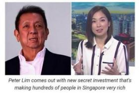 Tycoon Peter Lim makes police report over bitcoin scam ads using him