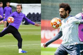 Tottenham Hotspur's Harry Kane and Liverpool's Mohamed Salah and Virgil van Dijk will be slugging out for the big prize.