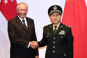 Reassuring that Chinese minister is here for forum: Ng Eng Hen