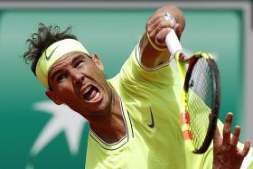 Rafael Nadal marches into last 32 of French Open