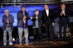 Star Wars land opens at Disney
