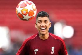 Liverpool forward Roberto Firmino is fit to play against Tottenham Hotspur.