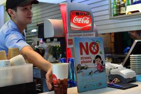 Over 270 food outlets to stop giving out plastic straws from July 1
