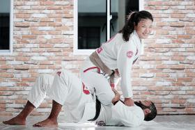 Singaporean jiu-jitsu exponent Audrey Kua turns grief into motivation