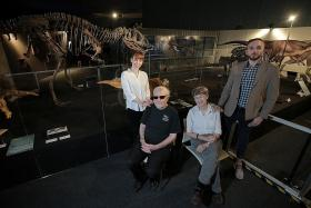 Fossils are a family business