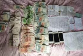 Police nab 56 people in raids on vice, gambling activities