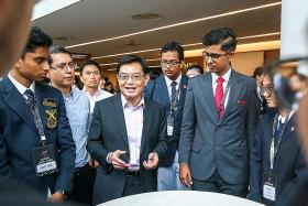 DPM Heng urges Singapore youth to seize opportunities across Asia