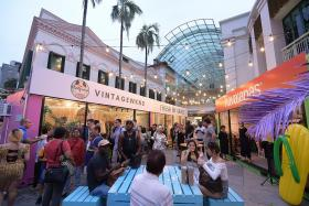 Hit the malls for pop-ups, special buys