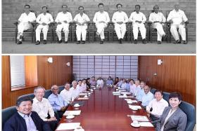 PM Lee honours first Cabinet