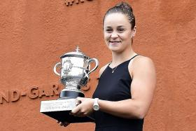 Ashleigh Barty attributes French Open victory to sabbatical in 2014