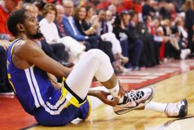Golden State Warriors forward Kevin Durant started Game 5 on fire before suffering an Achilles injury in the second quarter.
